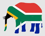 South African Elephant Flag