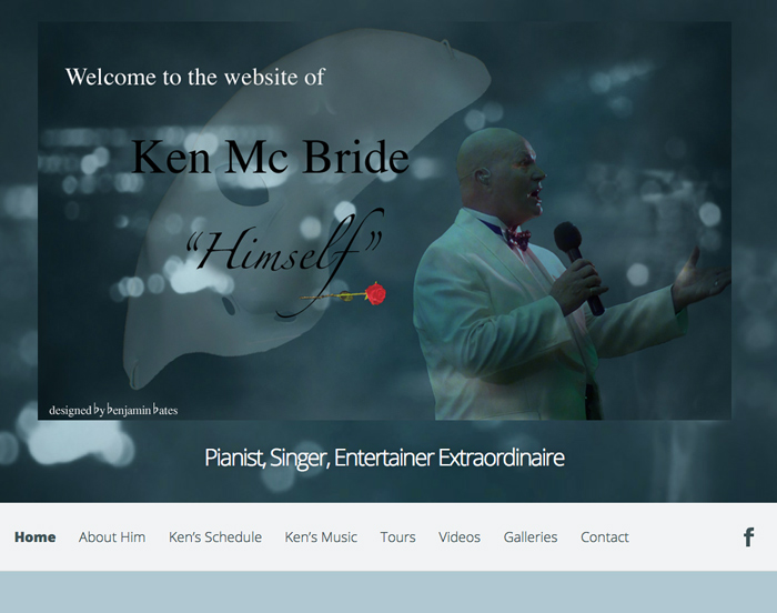Ken McBride Himself New website