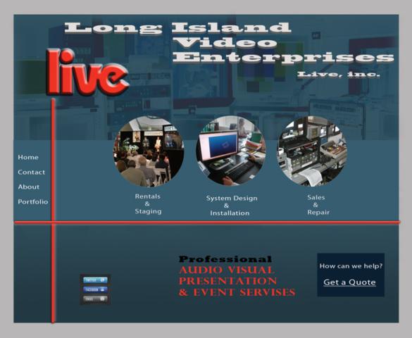 Long Island Video Old Website