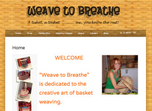 Weave To Breathe Website