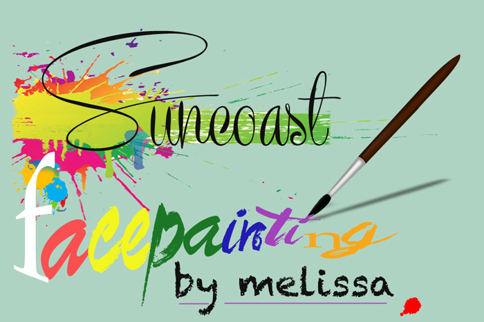 Suncoast Face Painting Logo
