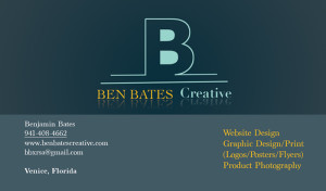 Ben Bates Creative Card