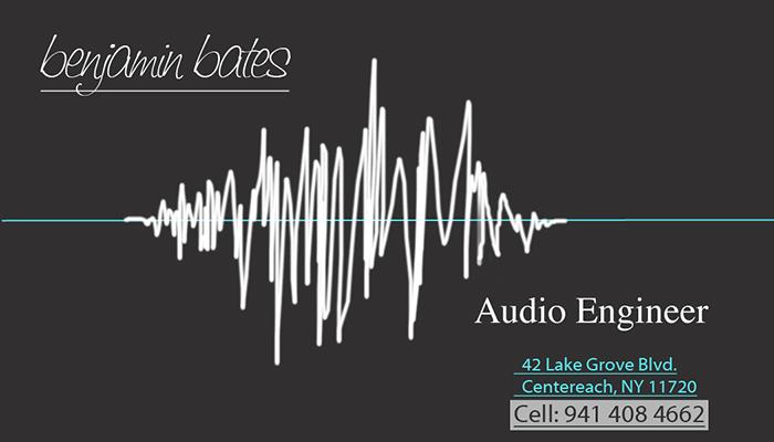 Sound Engineer Card