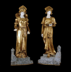 Bronze & Marble Figurines