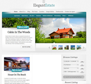 Elegant Themes Elegant Estate Sample
