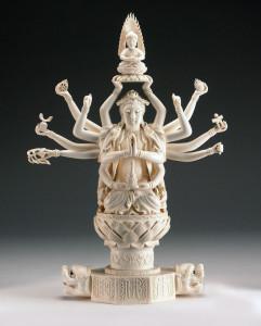 Ivory Carved Figurine