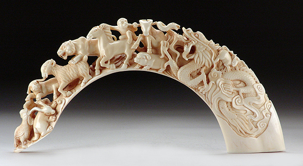 Ivory Carved Figurine