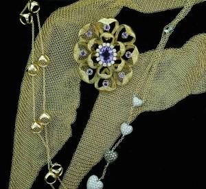 Jewelry montage