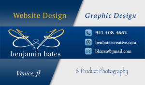 Ben Bates Creative Business Card