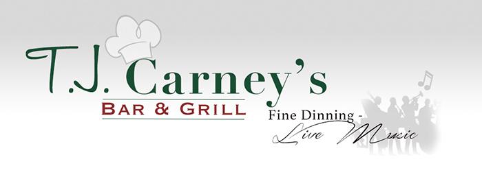 TJ Carney's Logo Graphic
