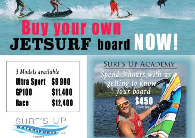 JetSurf Motorized Surf Board